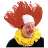 Clown Wig All American Red